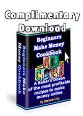Beginners Make Money Cookbook