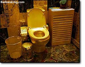 gold toilet seat cover. Simple Way To Boldly Replace Your Old Vintage Dark Ages Toilet Seat Lid