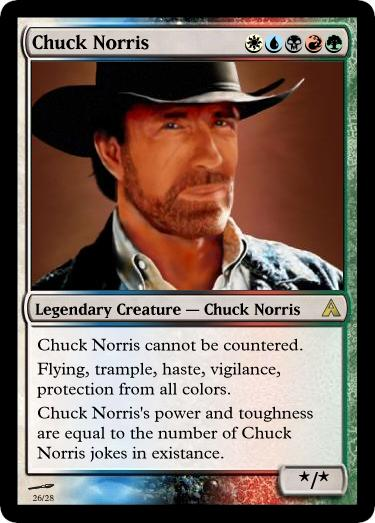 Chuck Norris Rocks!  Image by Dekroth - click on image to see his full site