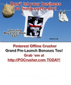 Pinterest Offline Crusher - Don't get hung out to dry!