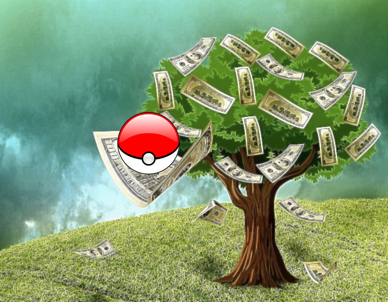 Make money with Pokemon Go!
